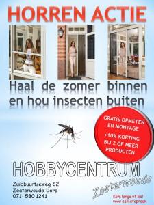 Haal de zomer binnen en hou insecten buiten - hobby centrum zoeterwoude._._